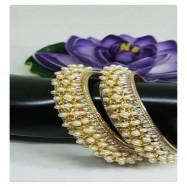 #bangles #AD #CZ #beads #twotone #silver #gold #multi #designer