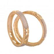 #bangles #AD #CZ #beads #twotone #silver #gold #multi #designer #peacock