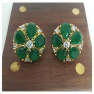 #studs #earrings #cz #zirconia #gold #silver #gemstone #designer