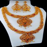 #copper #matt #necklace #south #jewellery #goldplated #goddess