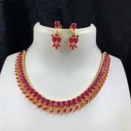 #necklace #gemstone #kemp #chokar #party #swag #