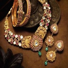 #necklace #designer #heavyset #jewelleryset